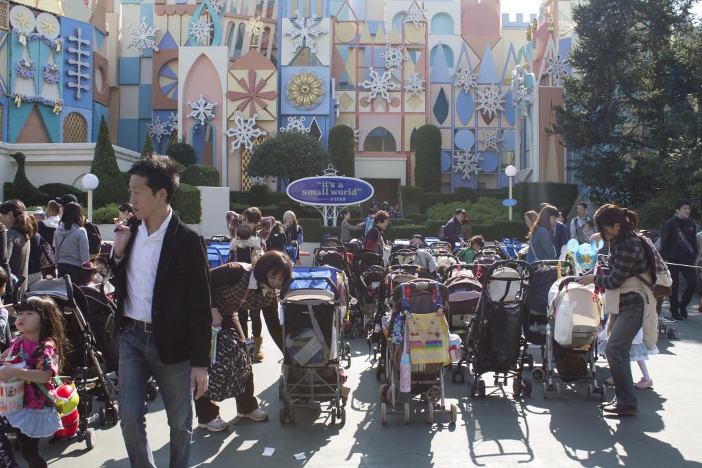 Tokyo Disneyland stroller