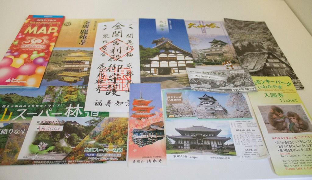Japan sight tickets