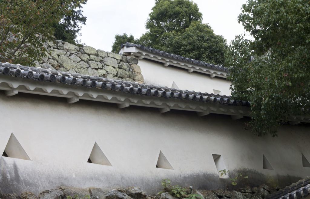 Himeji Castle loopholes