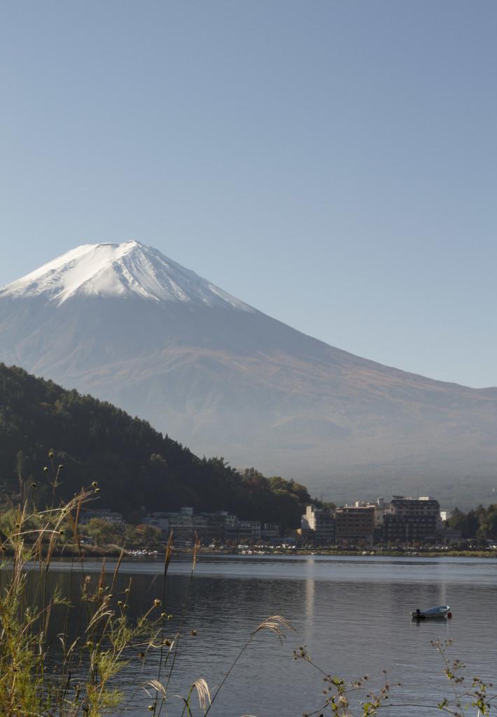 Mt Fuji and Lake Kawaguchi