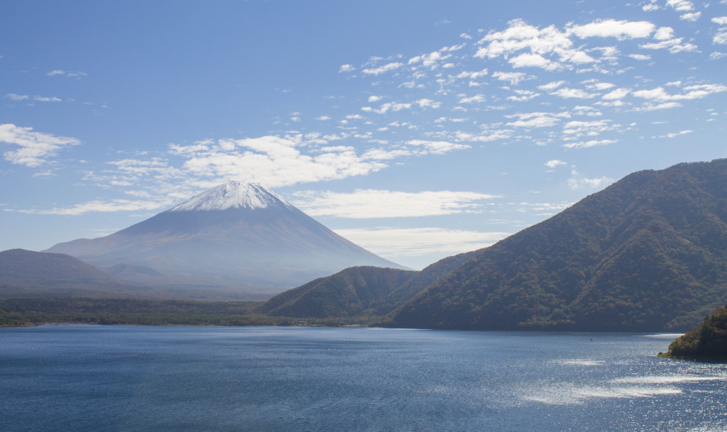 Mt. Fuji and Lake Motosu