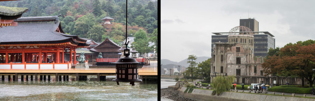 Japan itinerary Miyajima and Hiroshima