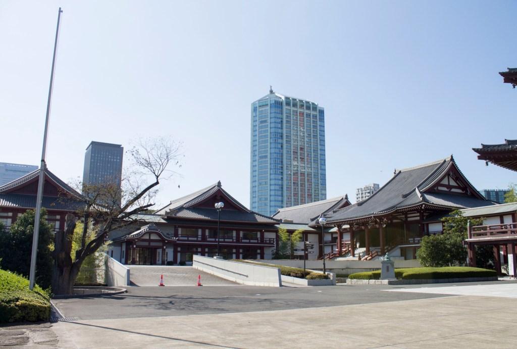 Zojoji Temple, Tokyo.