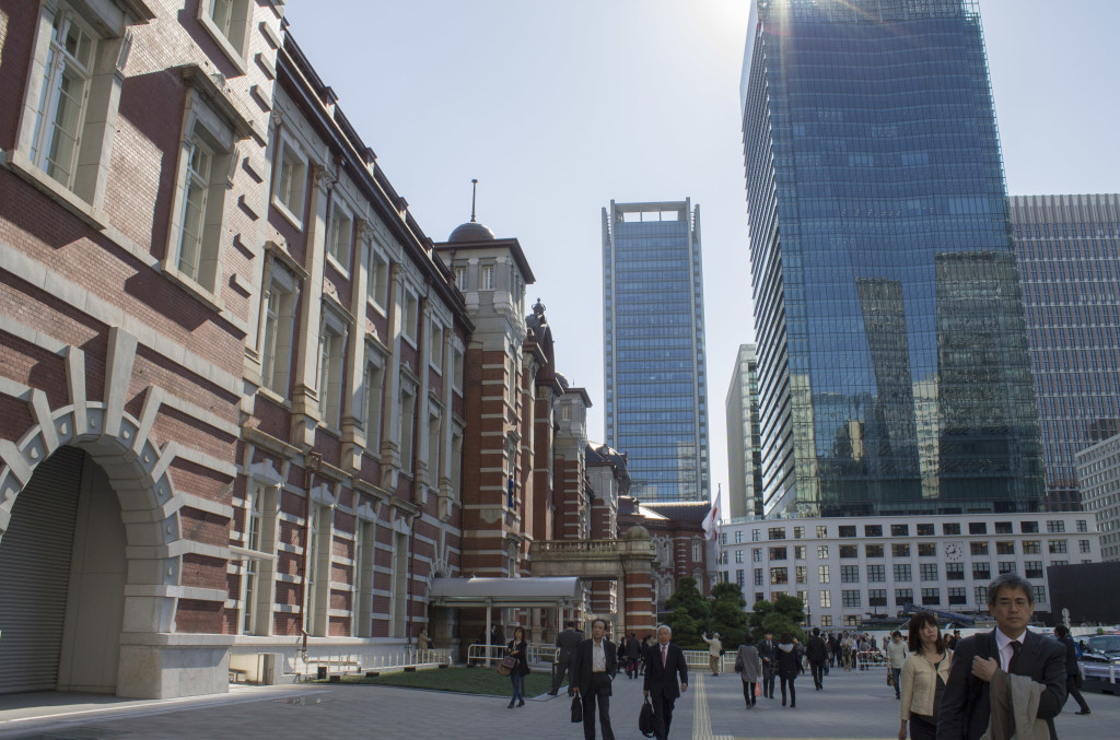 Tokyo station exterior