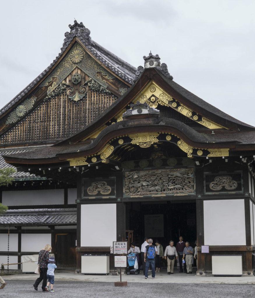 Nijo Castle Kyoto with kids
