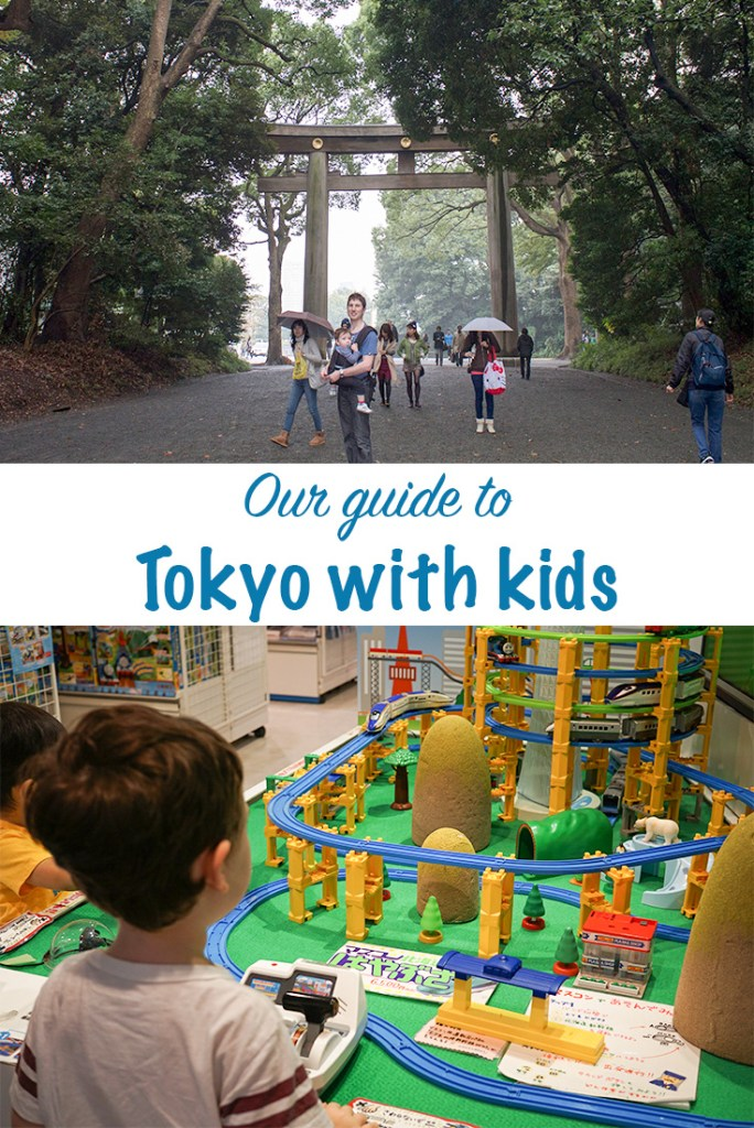 Tokyo with kids guide