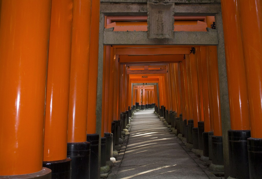 Walking fushimi Inari shrine