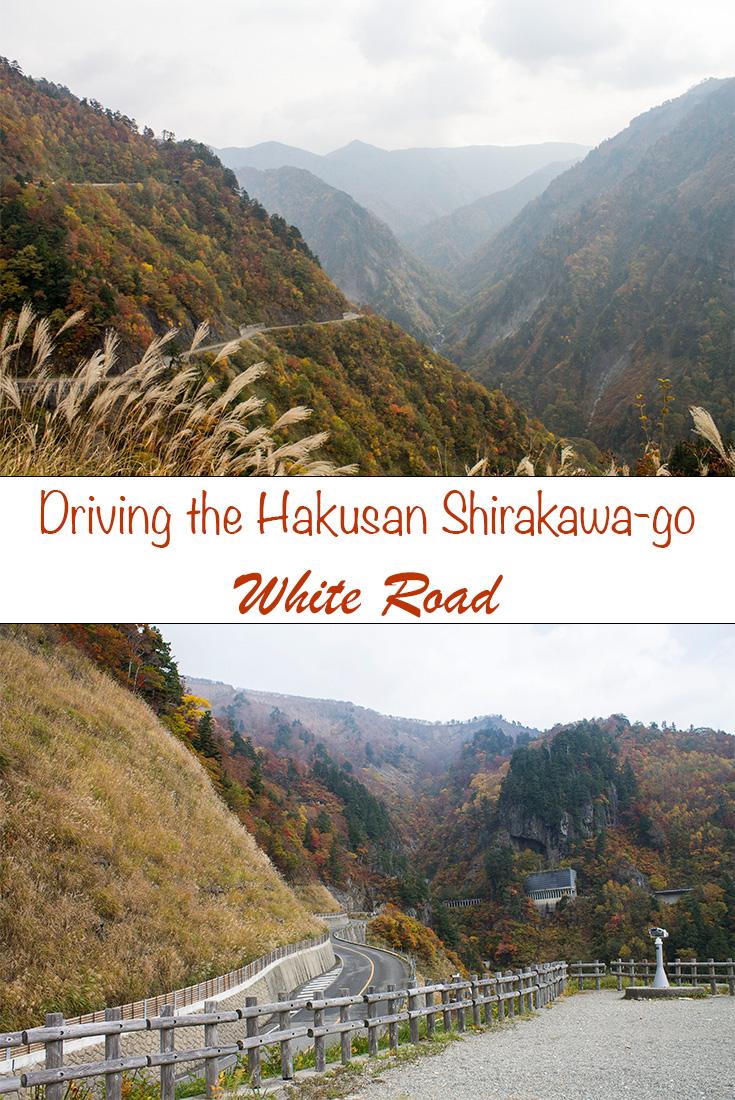 Driving the Hakusan Shirakawago white road