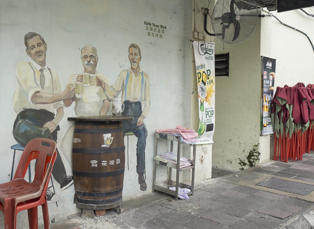 Ipoh Old town art