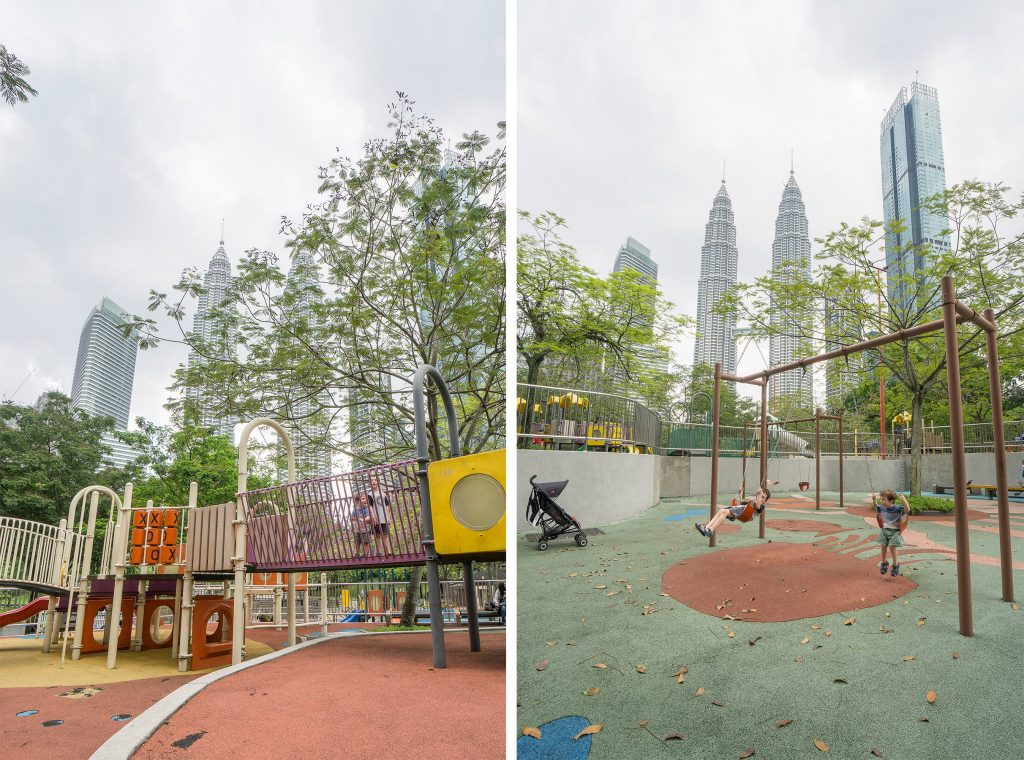 Kuala Lumpur with kids Playground