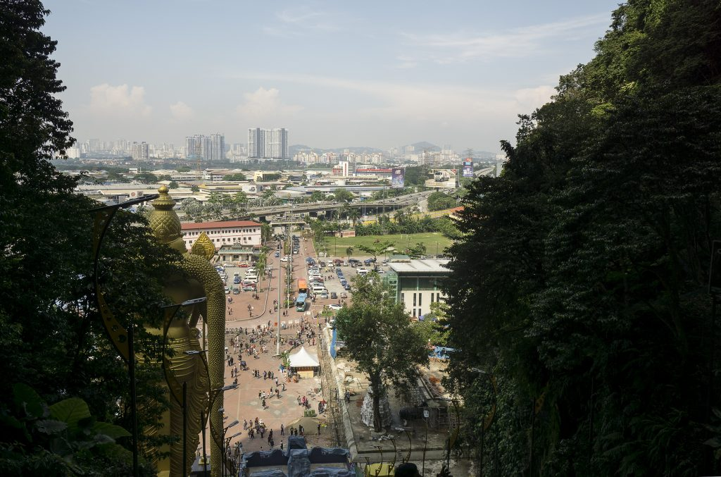 View from Batu Caves