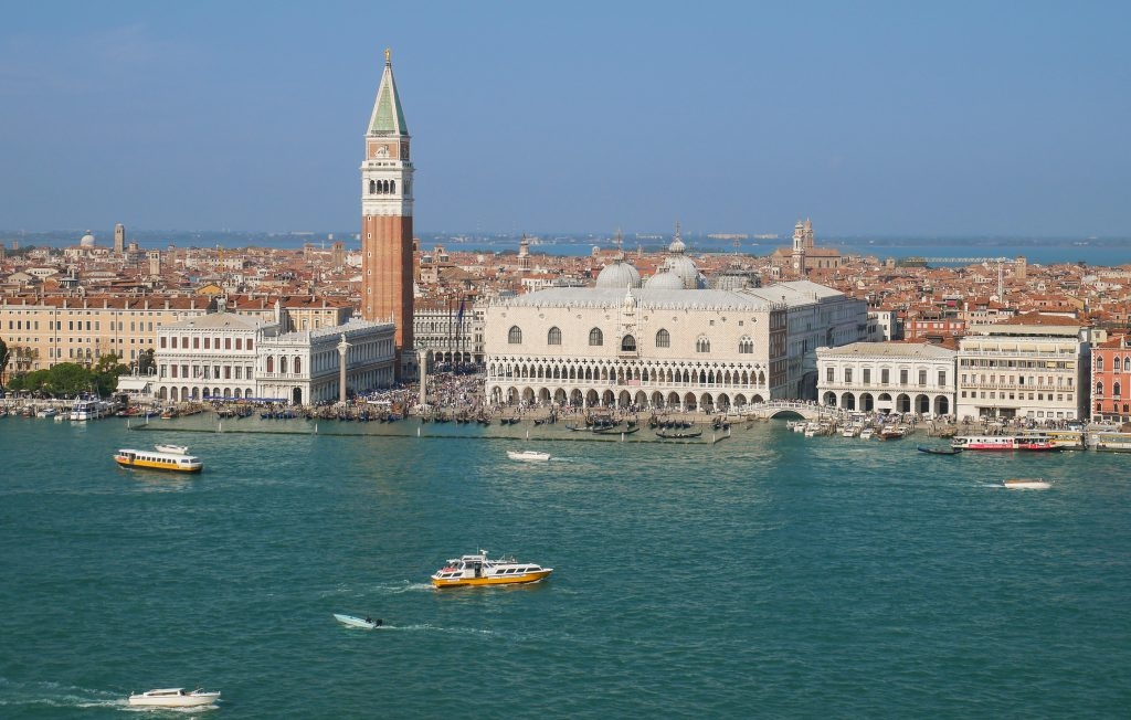 View venice from above