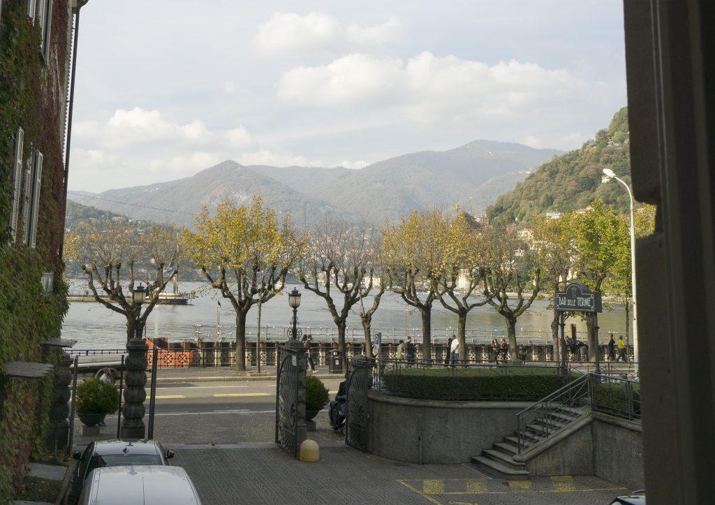 Como hotel view
