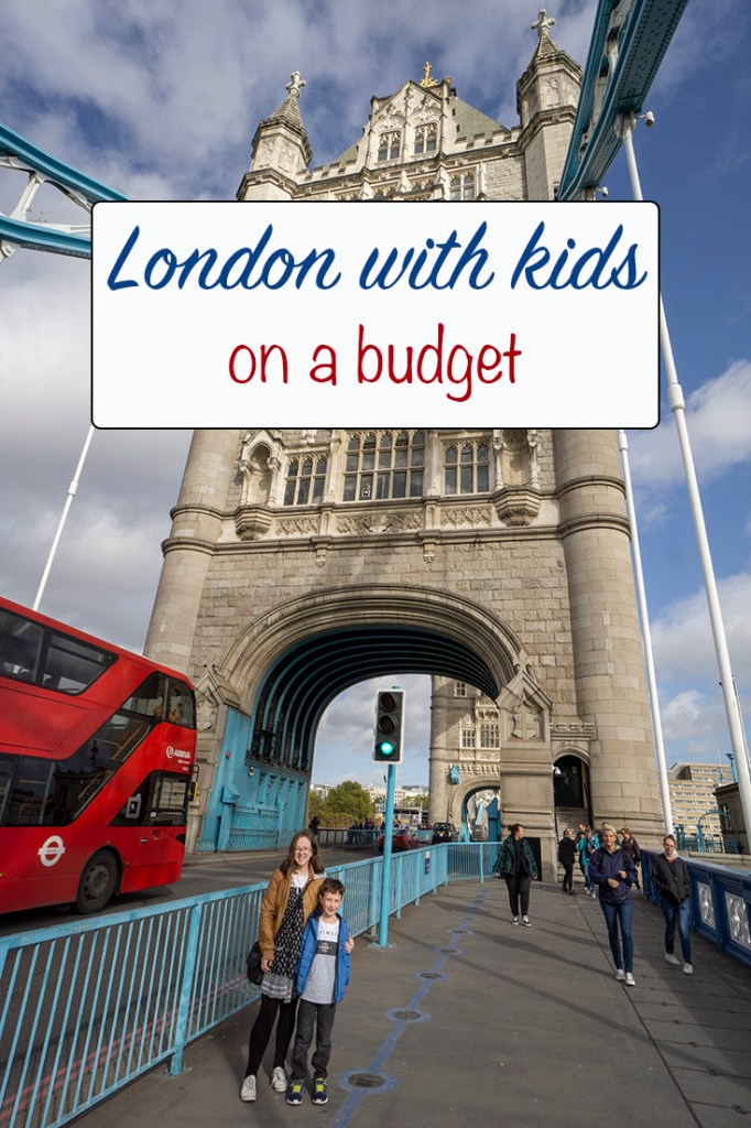 London with kids on a budget