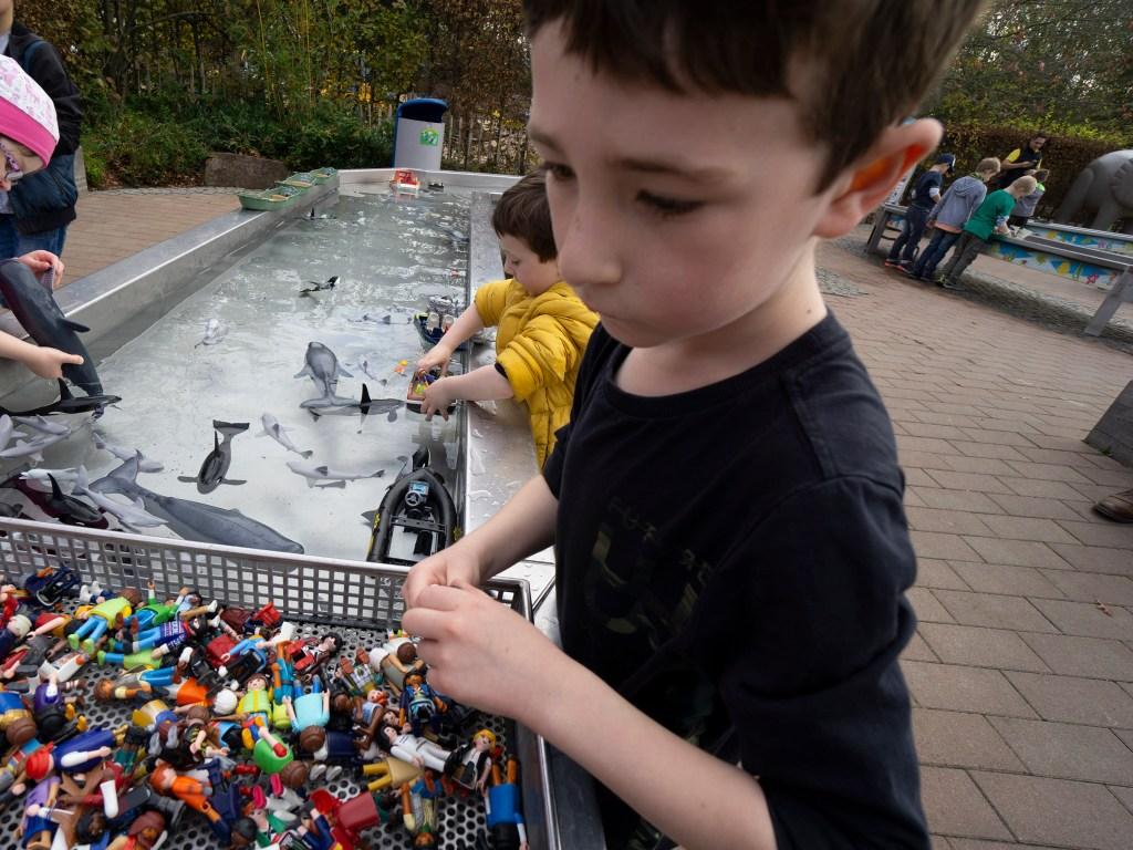 Water play at Playmobil