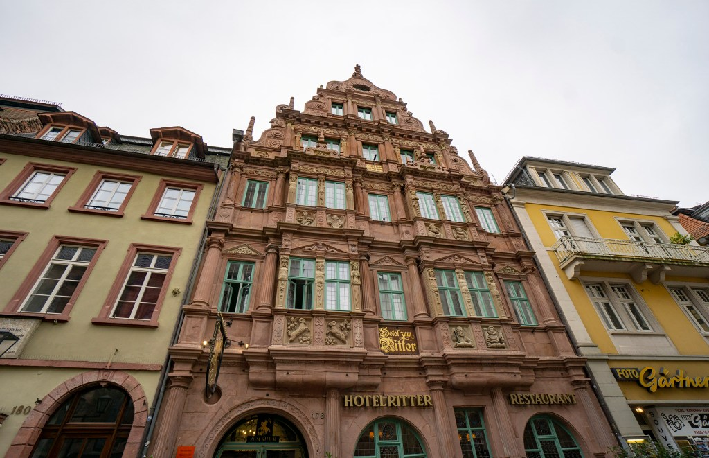 Hotel Ritter in Heidelberg's Old Town