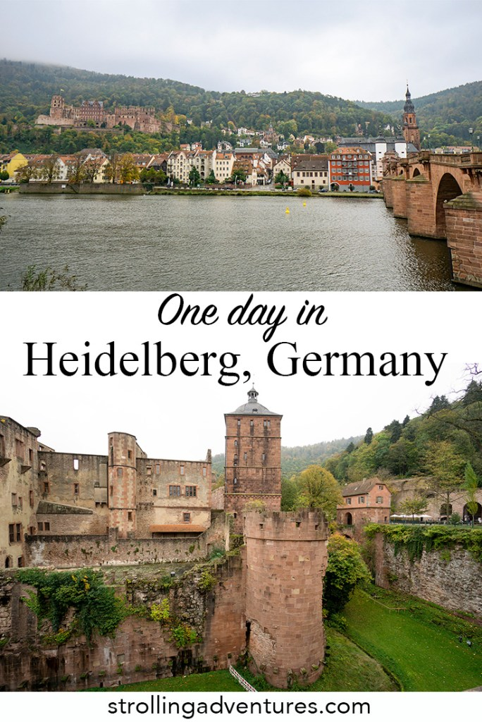 One day in Heidelberg Germany