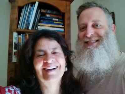 Adam Overton and Patricia Vasquez
