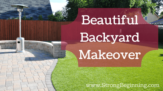 Beautiful Backyard Makeover