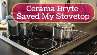 Cerama Bryte Saved My Stovetop