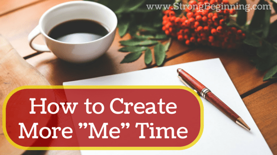 How to Create More Me Time