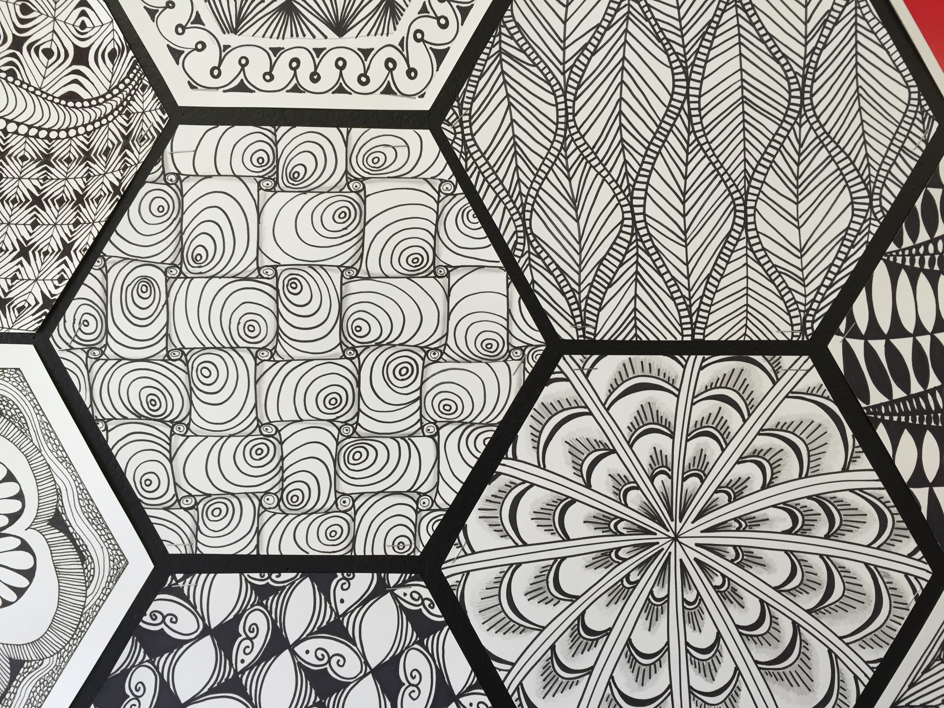 Zentangle-Inspired Workplace