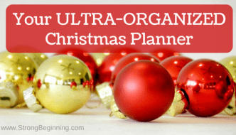 Your Ultra-Organized Christmas Planner