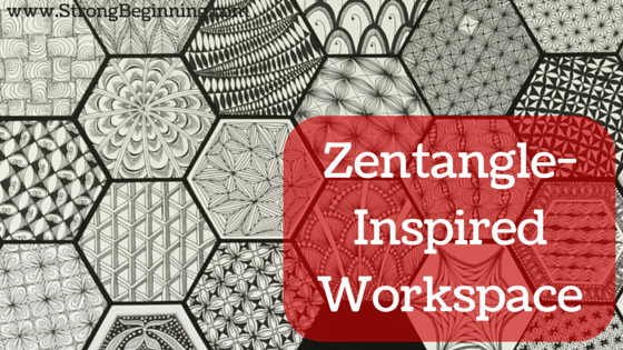A Zentangle-Inspired Workspace