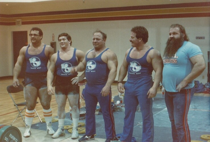 Old School Powerlifters