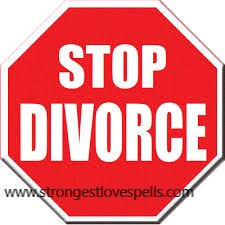 Stop divorce spell