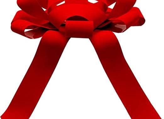 Simple Spell With Red Velvet Ribbon