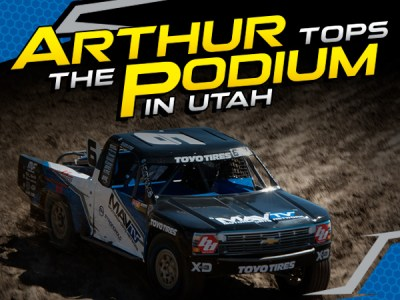 Arthur Tops the Podium in Utah
