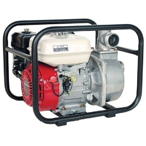 2 inch water transfer pump with roll frame