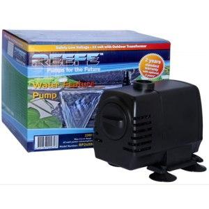 Low Voltage Garden Pond and Indoor Fountain Pump