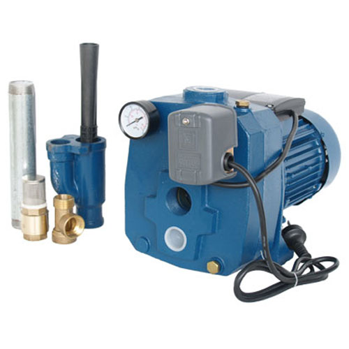 above ground surface bore pump