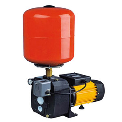 Convertible Deep Well Jet Pump with Pressure Tank