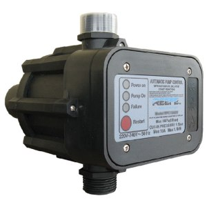 automatic pressure controller with 24 hour timer to restart periodically when it detects sufficient water supply