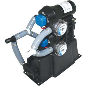 Jabsco 28 Litre Dual-Max 7.5 Freshwater Pressure System