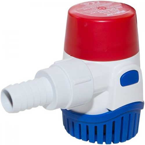 manual rule bilge pump