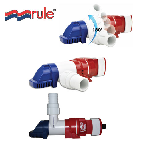 12V Small Low Profile Automatic Bilge Pump