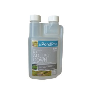 ph adjust down natural ph controller for ponds and aquariums