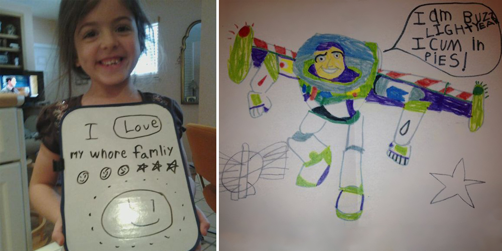Kids Hugely Inappropriate Spelling Mistakes