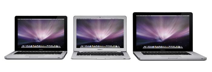 New MacBook Family