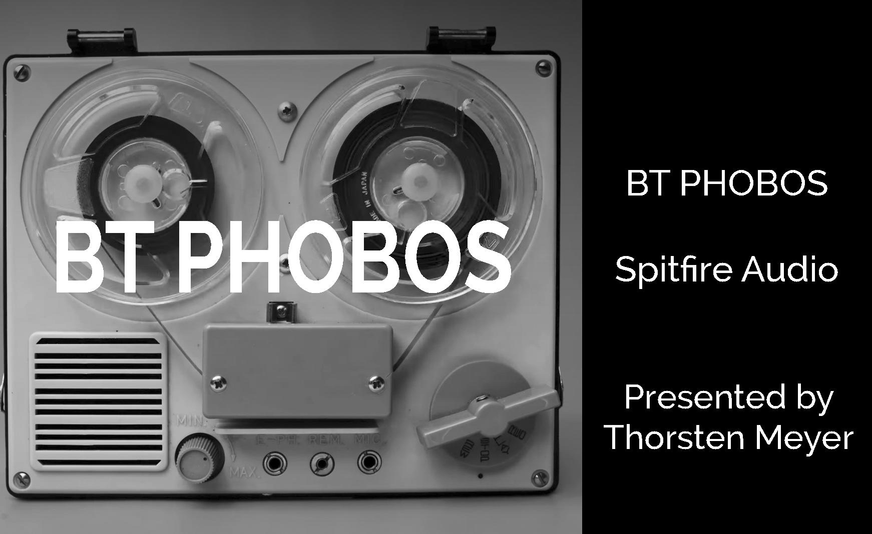 BT PHOBOS Spitfire's polyconvolution synthesizer | StrongMocha