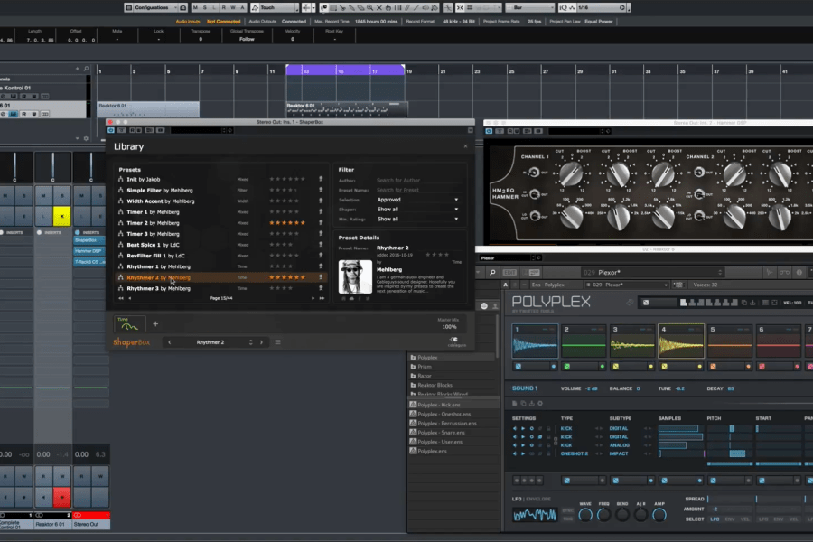 Polyplex by Twisted Tools / Native Instruments meets Shaperbox by Cableguys