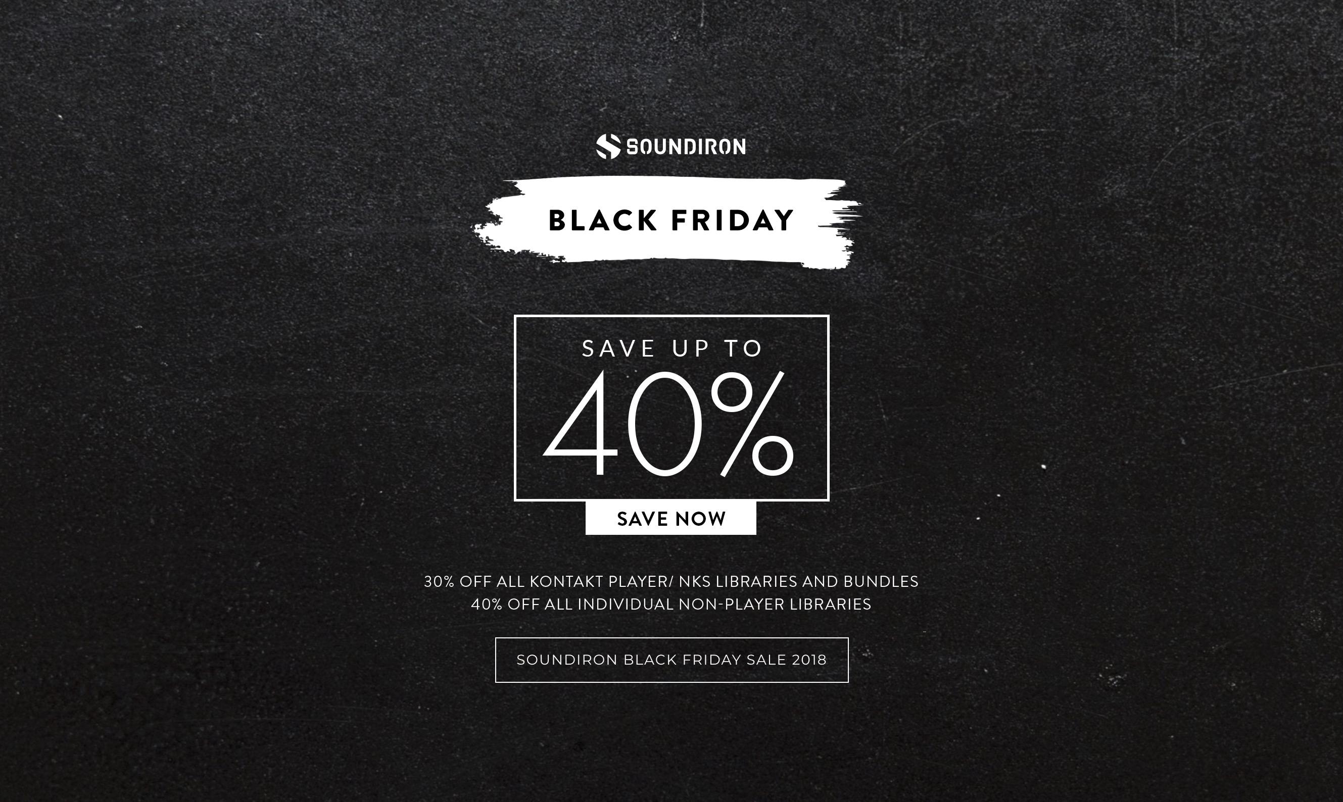 Ryddig Soundiron Black Week and Friday Sale | StrongMocha SK-65