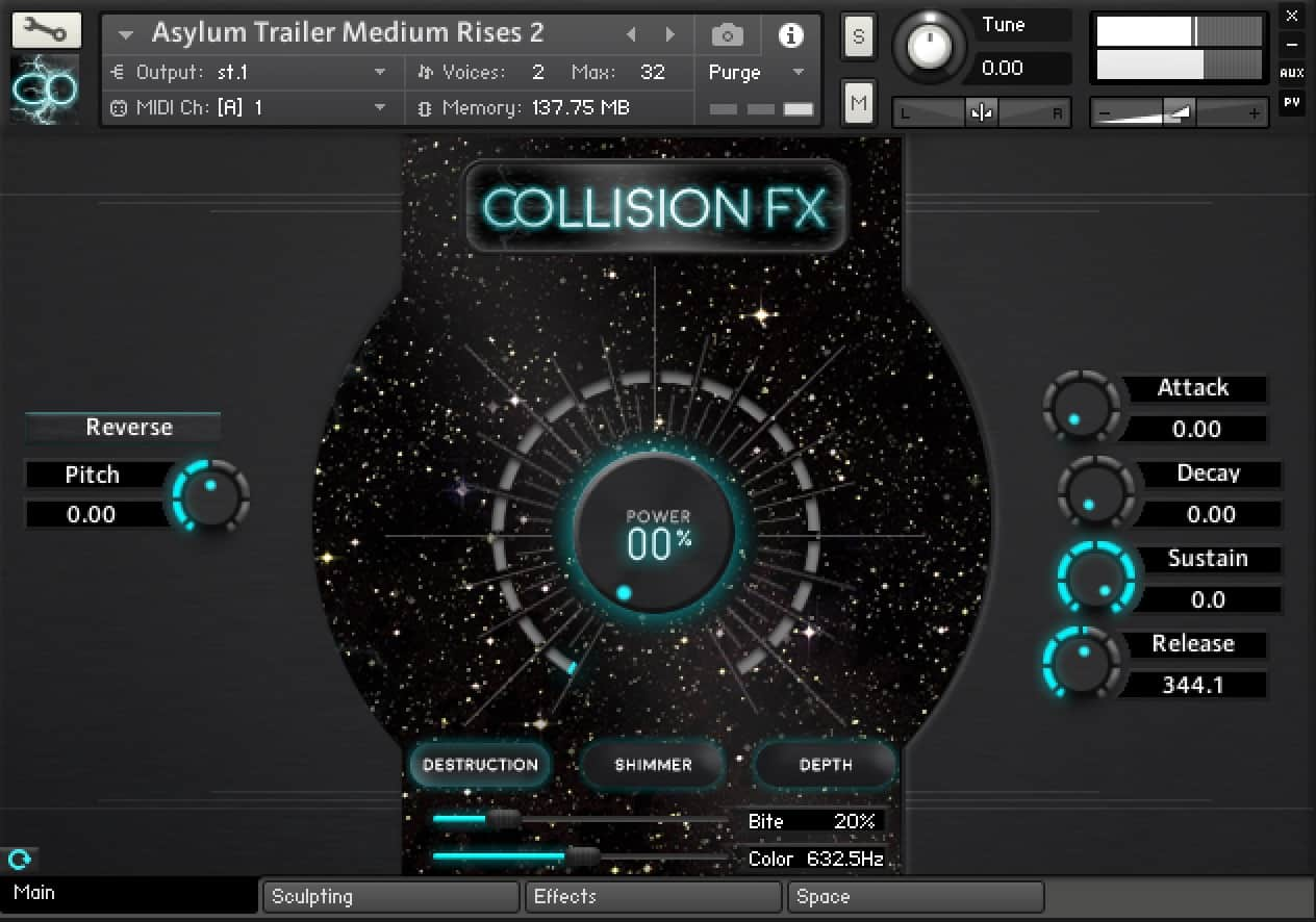 Collision FX – Cinematic Scoring Tool by SoundYeti 30% OFF