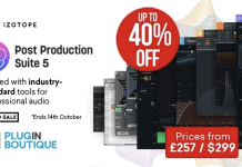 iZotope RX Post Production Suite 5 Sale