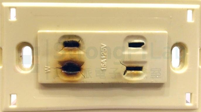 長期發熱的插座很危險