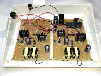 PCB inside electrotherapy